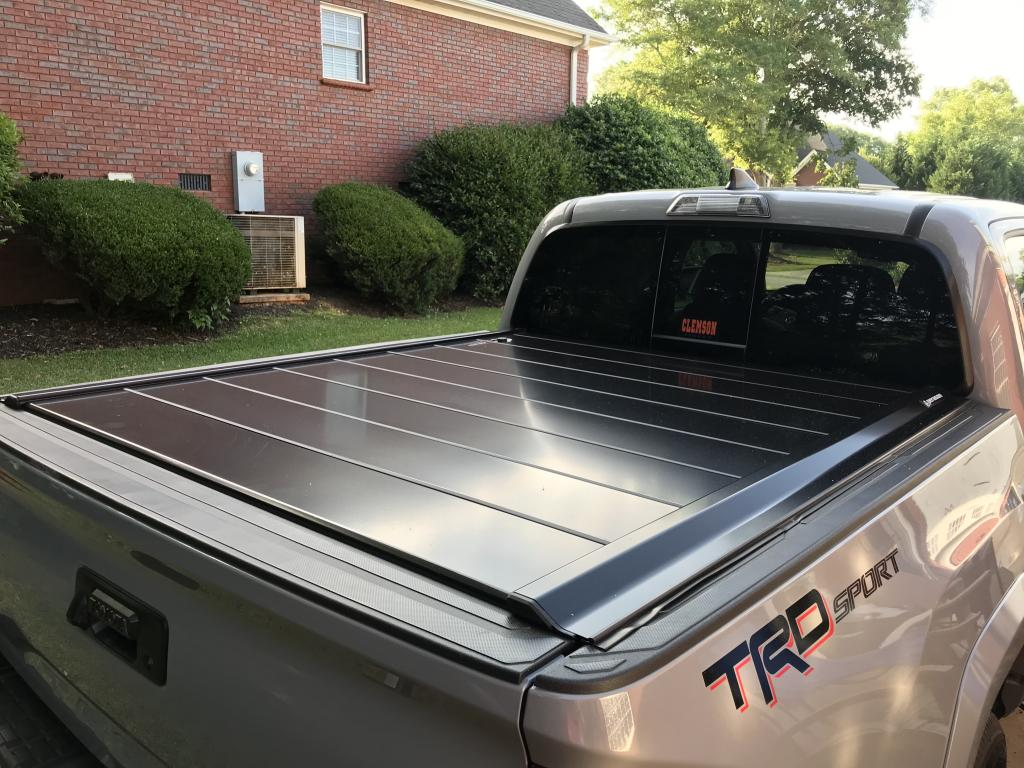 2017 Toyota Tacoma Pickup Truck Bed Covers Peragon