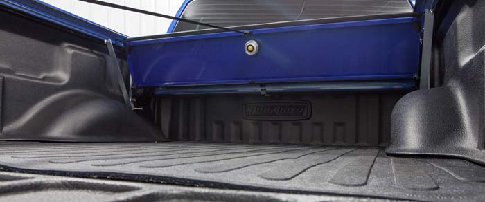 Aluminum Tonneau Cover with DualLiner Bed Liner