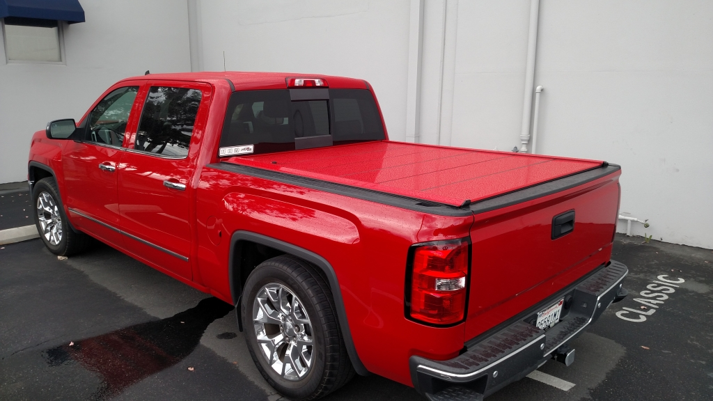 Peragon Retractable Truck Bed Covers For Gmc Sierra Pickup