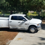 Peragon cover on 2015 RAM 3500 dually crew cab long bed